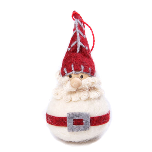 amica christmas felt decoration Ball ruffle choir boy