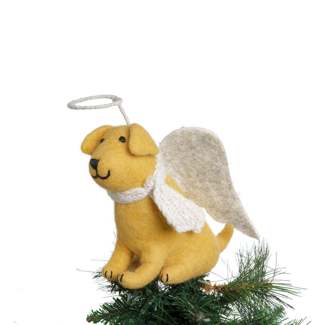 Amica - Golden Labrador Tree Topper - Small