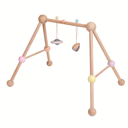 baby gym wooden toy planet rocket 2