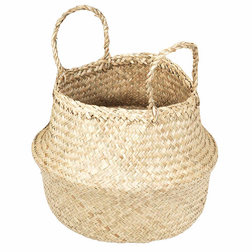 broste Ilse Fold Sea Grass Basket with handles - Large