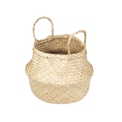 broste Ilse Fold Sea Grass Basket with handles - Medium