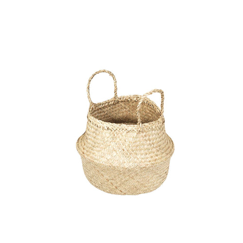 broste Ilse Fold Sea Grass Basket with handles - Small