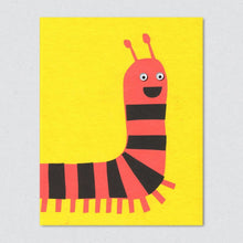 Lisa Jones Studio - Caterpillar Card