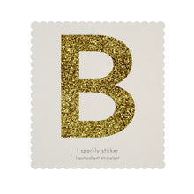chunky sparkly sticker B