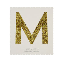 chunky sparkly sticker M