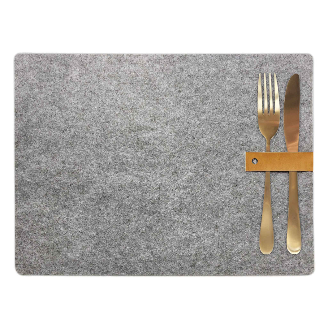 delight department nordic felt placemat leather