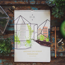 duke and rabbit around the world in terrariums calendar 218