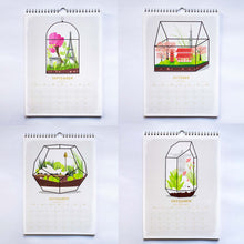 duke and rabbit around the world in terrariums calendar 218 months3