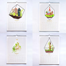 duke and rabbit around the world in terrariums calendar 218 months