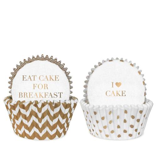 Delight Department - White Gold Cake Cases