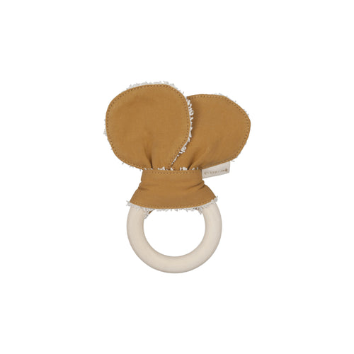 Fabelab - Animal Teether - Bear - Ochre