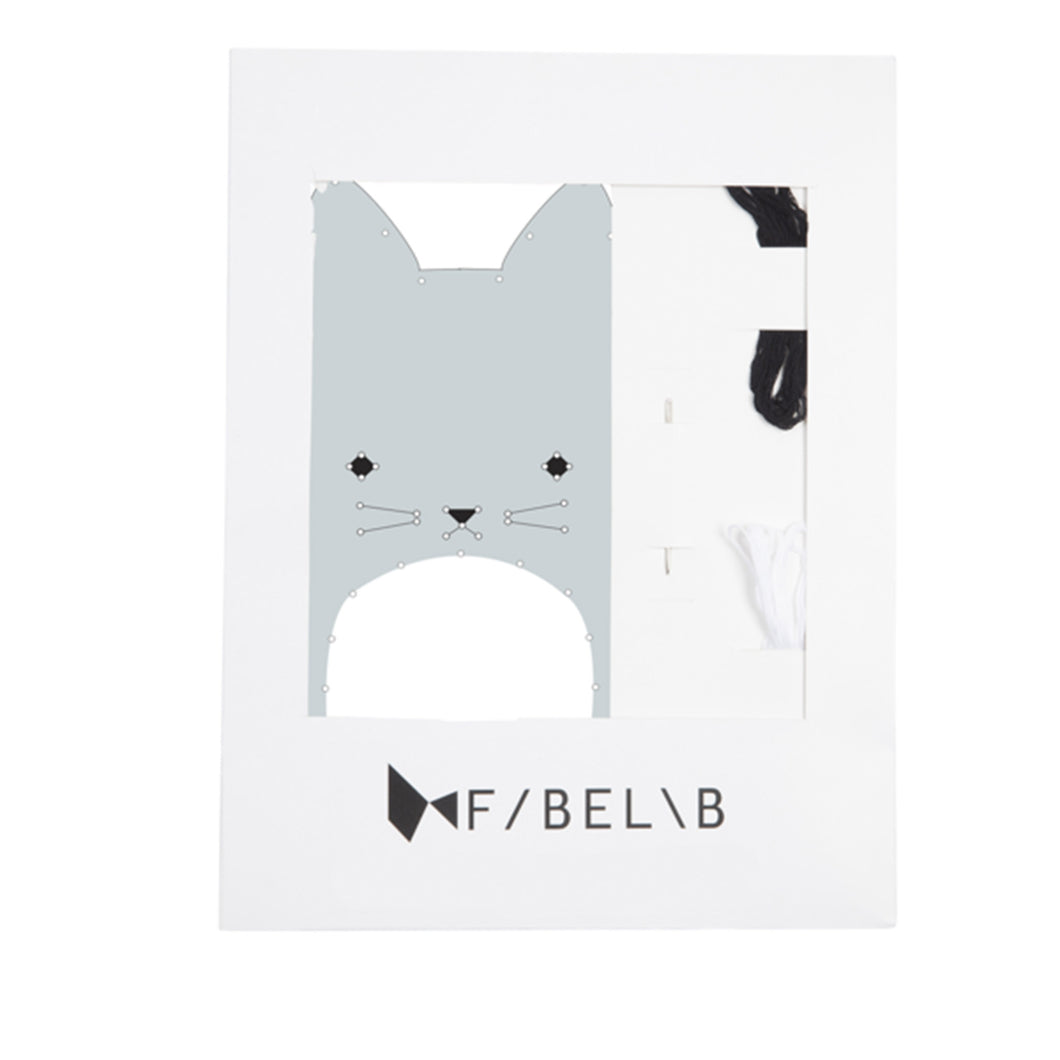 Fabelab - Embroidery Kit - Cat