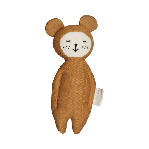 Fabelab - Soft Rattle - Ochre Bear