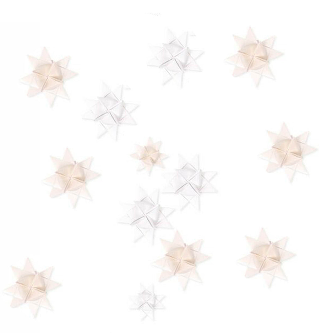 froebel stars white and ivory