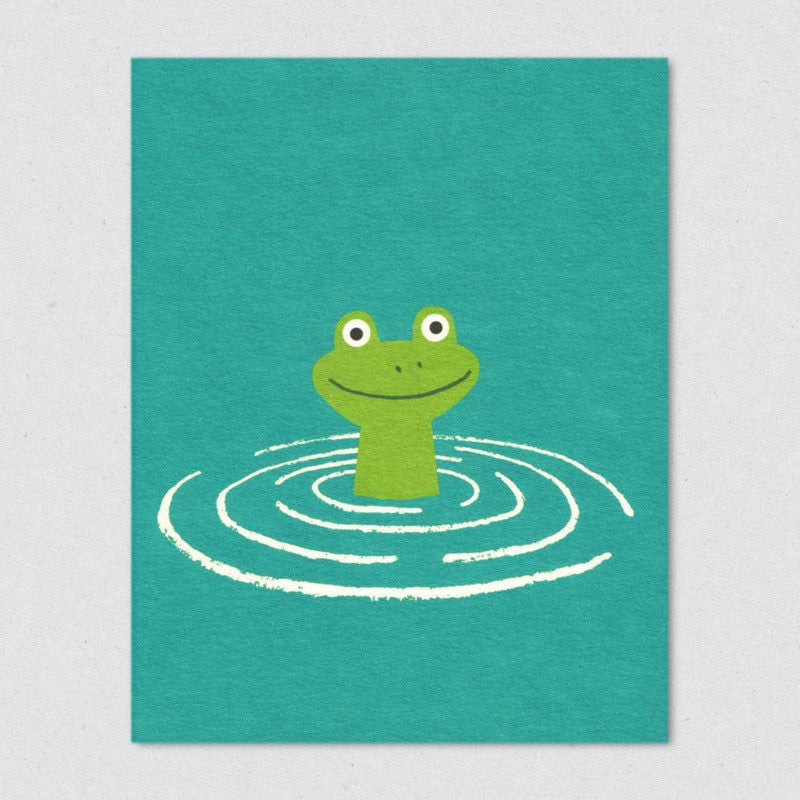 Lisa Jones Studio - Frog Card