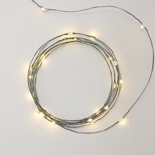 galaxy strand led fairy lights green rolled