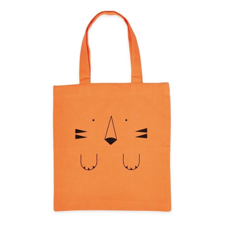 Bandjo - Tote bag - 100% cotton - Orange Tiger