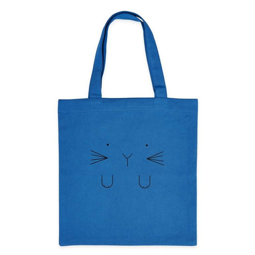 Bandjo - Tote bag - 100% cotton - Blue Cat