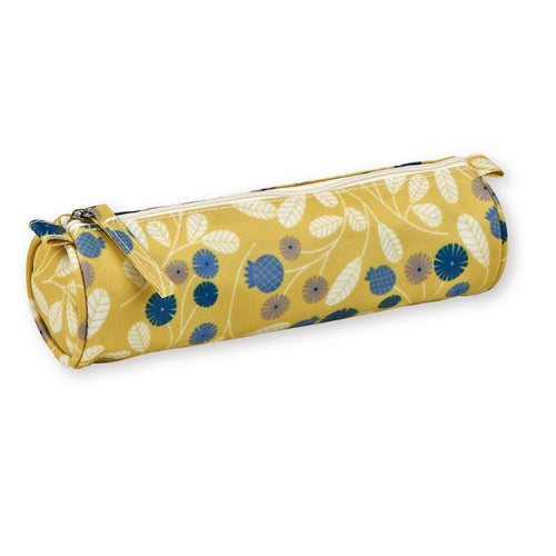 Mini Labo - Pencil case - silk-screened coated cotton - Mimosa