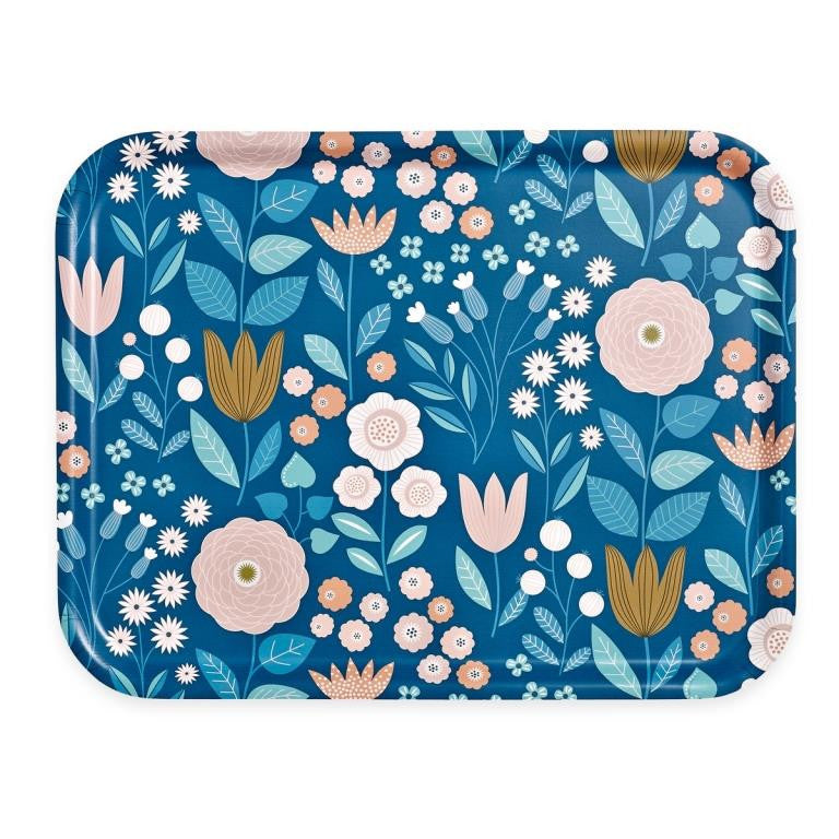 Mini Labo - Large Tray - Graphic Floral