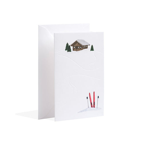 Gmund - Mountain Hut Christmas Card