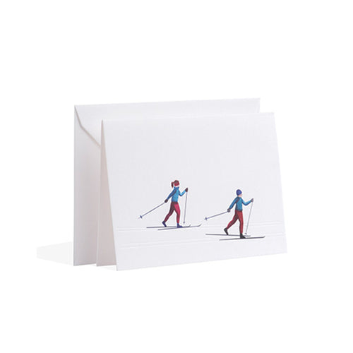 Gmund - Cross-country skiing Christmas Card