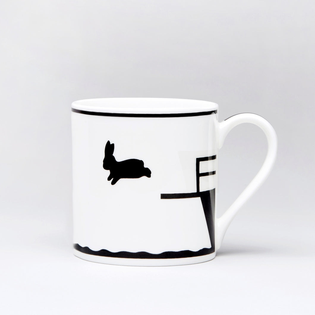 HAM - Diving Rabbit Mug