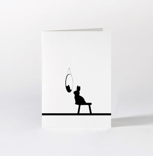 HAM - Reflective Rabbit Card