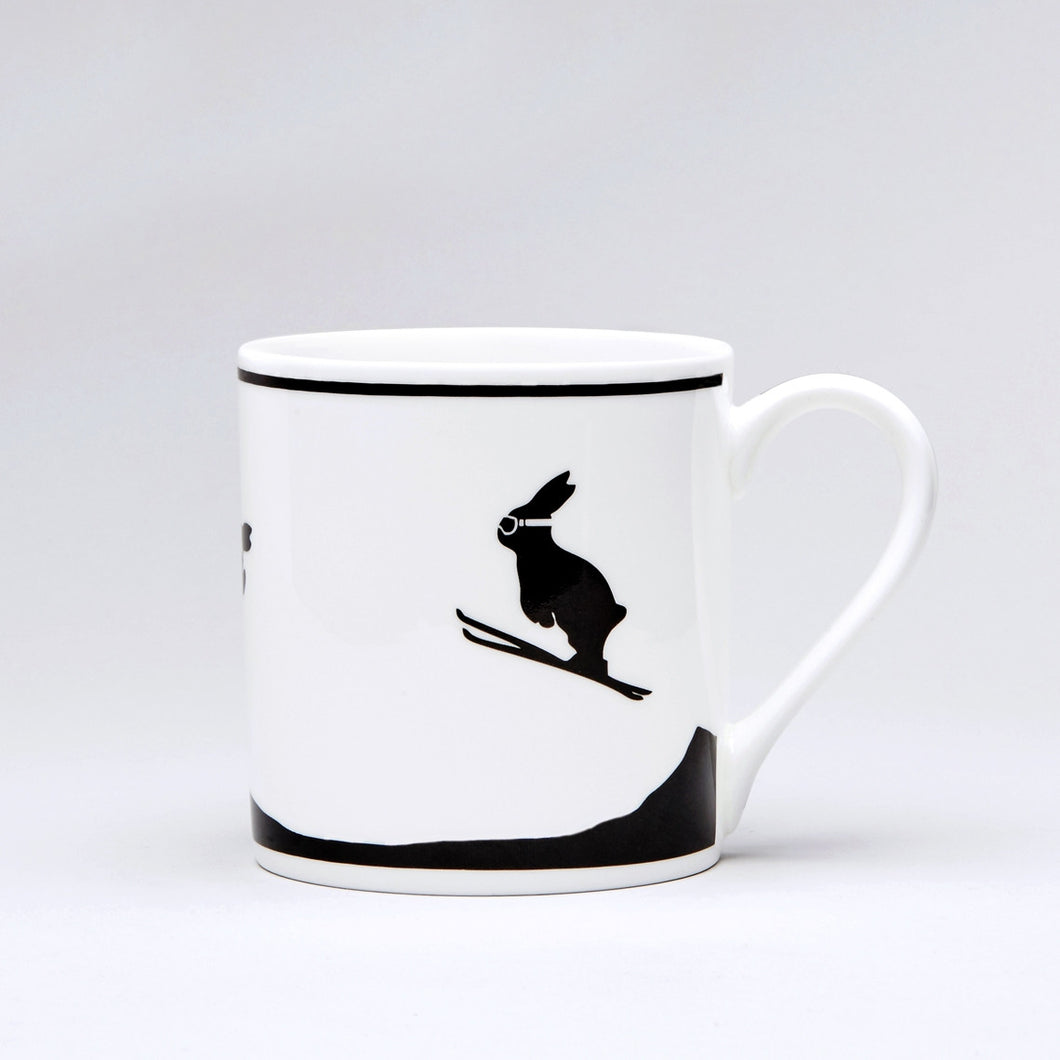 HAM - Ski Jumping Rabbit Mug