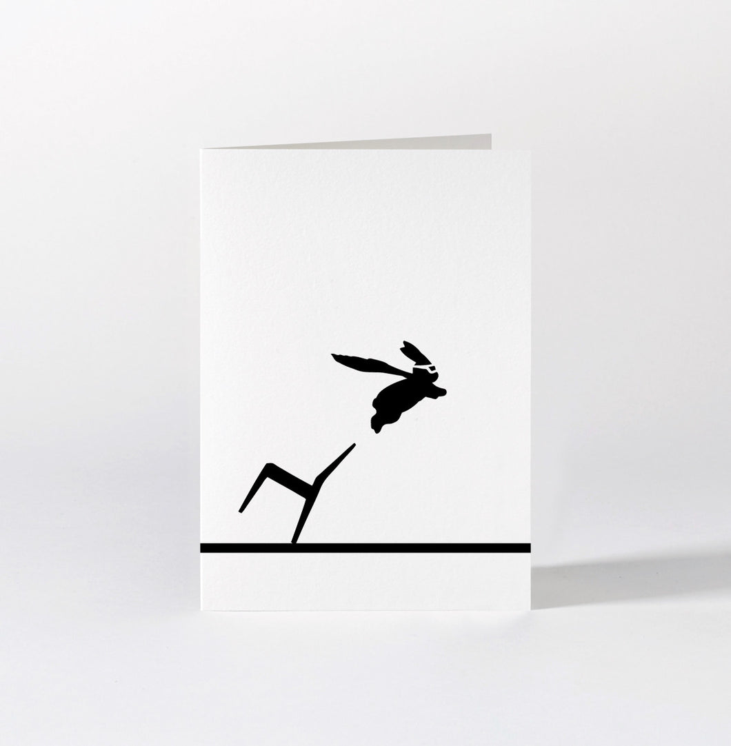 HAM - Superhero Rabbit Card