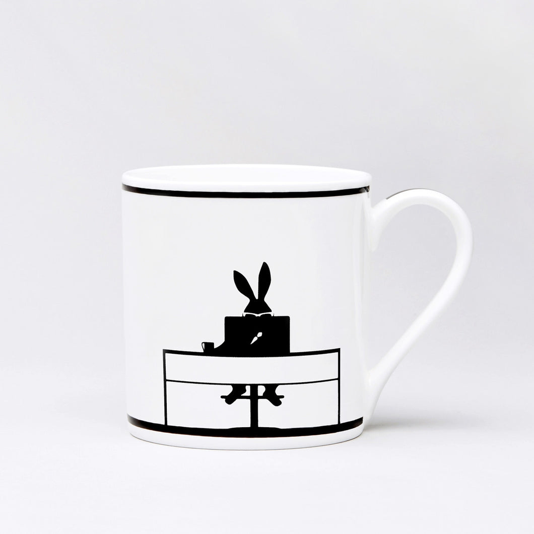 HAM - Working Rabbit Mug