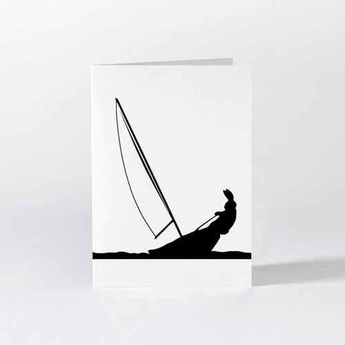 HAM - Sailing Rabbit Card