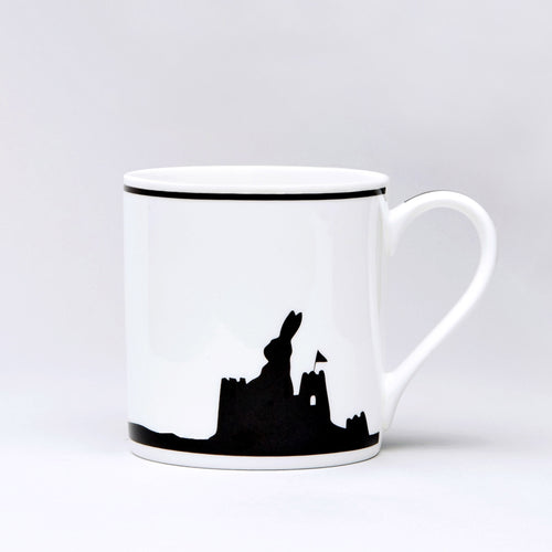 ham seaside rabbit mug front