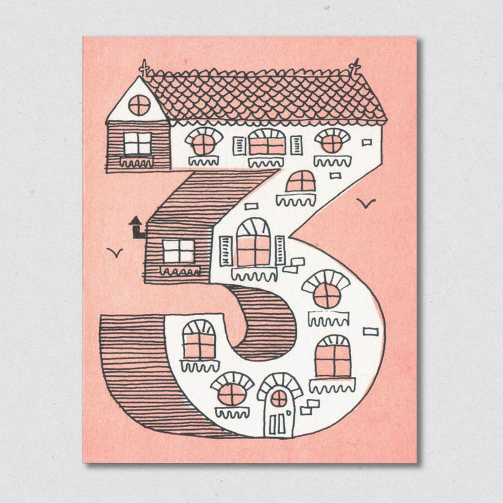 Lisa Jones Studio - House No.3 Card