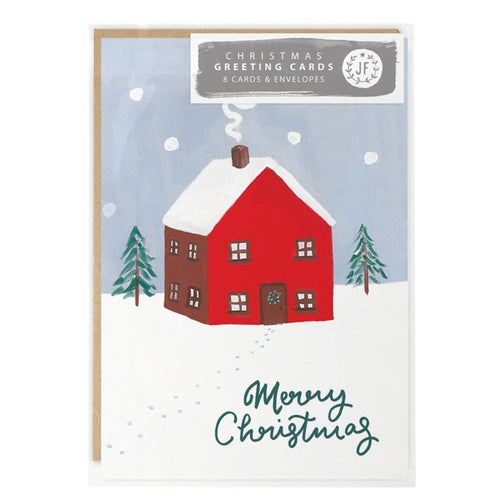 jade fisher christmas card pack house