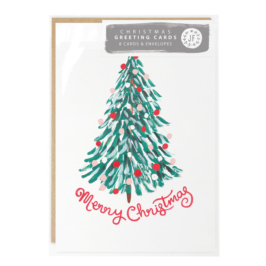 jade fisher christmas card pack tree