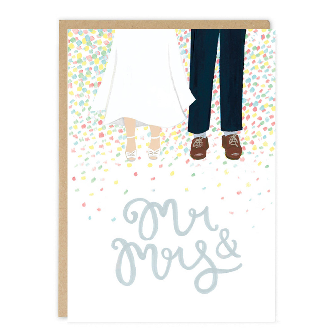 jade fisher wedding card mr and mrs