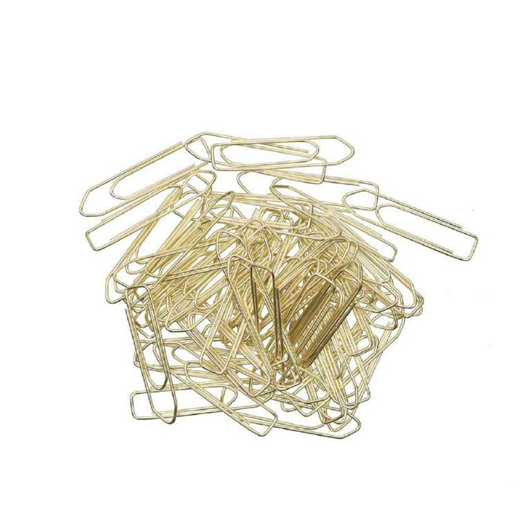 large gold paperclips