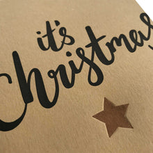 letterpress its christmas card close