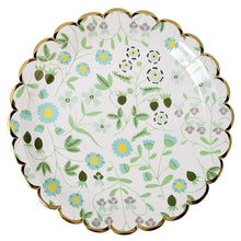 liberty floral print paper plate