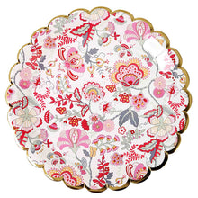 liberty floral print paper plate s