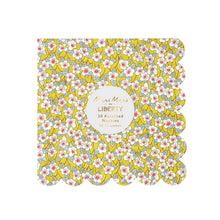 liberty floral print small napkins