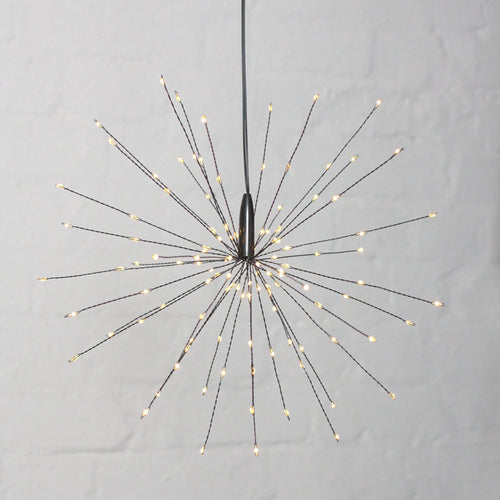 Lightstyle - Starburst Black Hanging Lights - Small