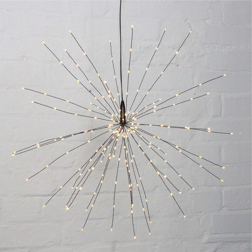 Lightstyle - Starburst Black Hanging Lights - Large