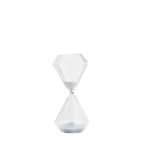 madam stoltz hexagonal sided large hour glass