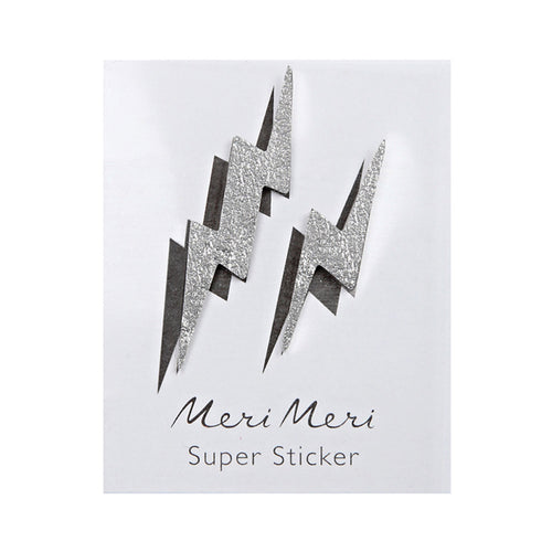 Meri Meri - Leather Sticker - Lightning