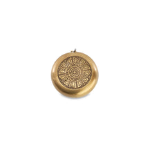 meruti antique gold brass tape measure