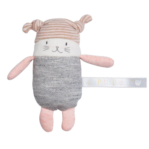 Moulin Roty - Moon the little cat rattle