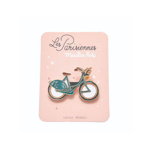 Moulin Roty - Les Parisiennes - Bicycle Enamel pin