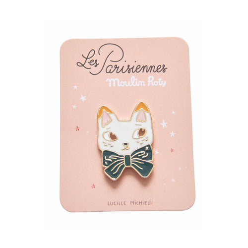 Moulin Roty - Les Parisiennes - Cat Enamel pin